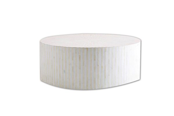 Round Center Table in White Color