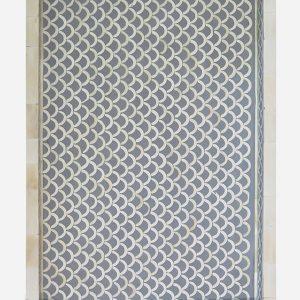 Fish Scale Design Tray in Grey Color