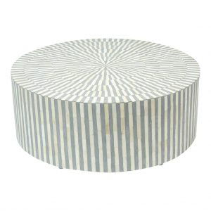 Round Center Table in Grey Color