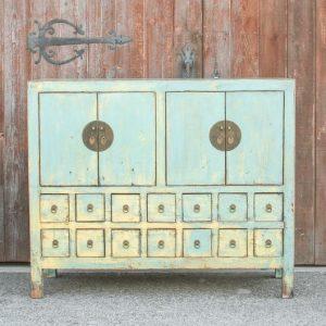 Antique Blue Buffet sideboard