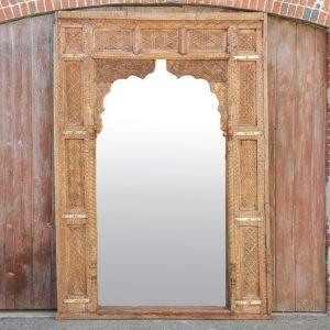 Vintage Carved Large Mirror Frame