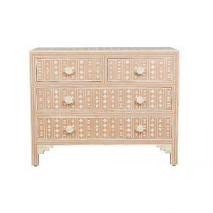 Bone Inlay Dresser Pink