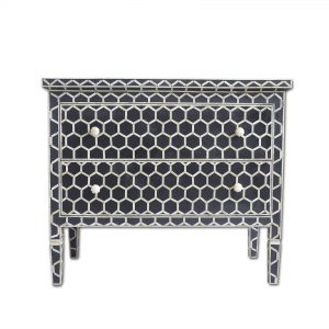 Bone Inlay Dresser Table