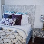 Bone Inlay Headboard